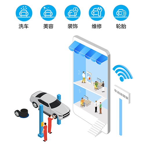 收银软件—车边店管家专属汽车店铺的智能化管理工具